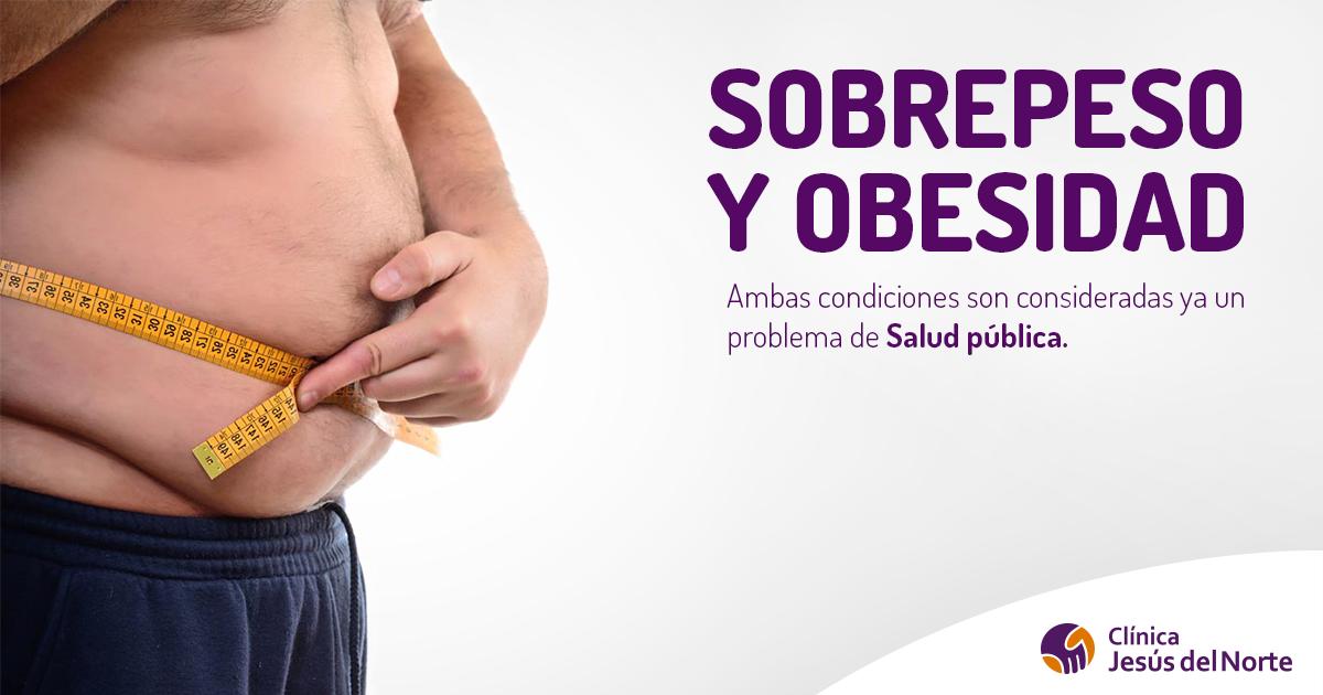 Cuando se considera sobrepeso y obesidad
